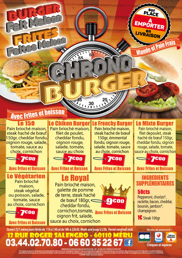 Chrone-Burger